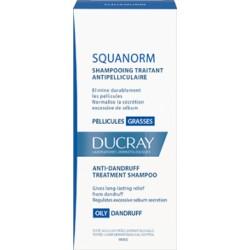 Ducray Squanorm Shampooing traitant antipelliculaire pellicules grasses 200 ml