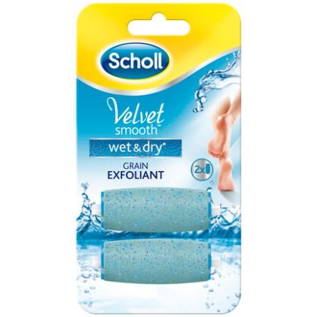 Scholl Velvet smooth rouleaux de remplacement wet & dry