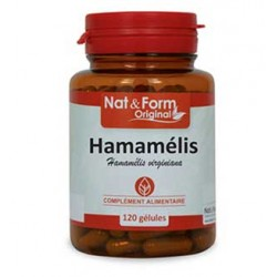 Nat & Form Hamamélis 200 gélules
