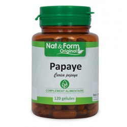 Nat & Form Papaye 200 gélules