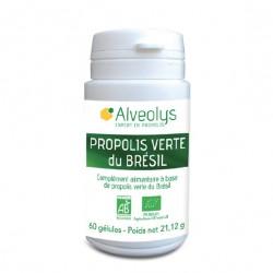 Alveolys Propolis Verte du Brésil Bio 60 gélules