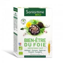 Santarome Hépatonic Bio Bien-être du foie 20 ampoules