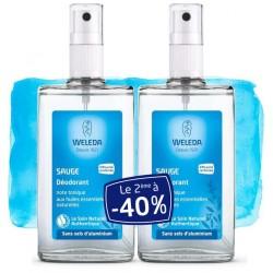 Weleda Déodorant Spray à la Sauge Offre Duo 2x100 ml