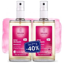 Weleda Déodorant Spray à la Rose Offre Duo 2x100 ml