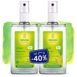 Weleda Déodorant Spray au Citrus Offre Duo 2x100 ml