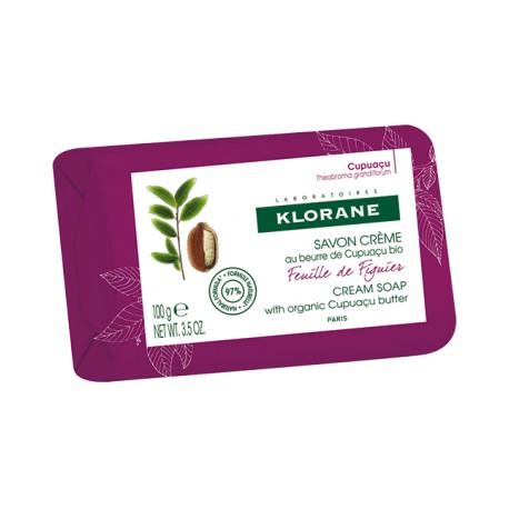 Klorane Savon crème Feuille de Figuier 100 g