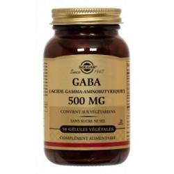 Solgar GABA 500mg 50 gélules végétales