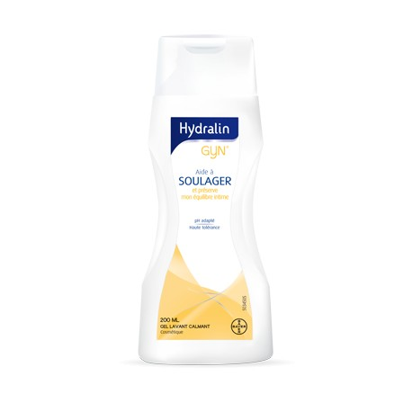 Hydralin Gyn Gel lavant calmant 400 ml