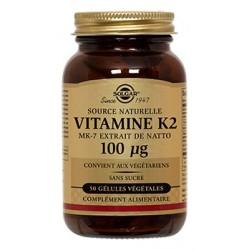 Solgar Vitamine K2 50 gélules végétales