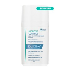 Ducray Hidrosis Control roll-on anti-transpirant aisselle 40 ml