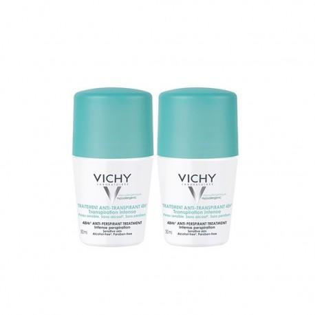 Vichy Déodorant Anti-transpirant 48h bille lot de 2