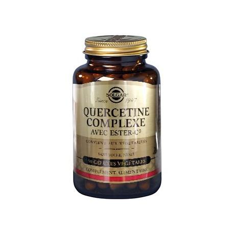Solgar Quercétine Complexe 250 mg + Ester-C Plus 50 gélules végétales