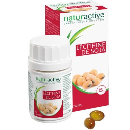 Naturactive Lécithine de soja 60 capsules
