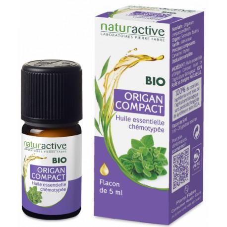Naturactive Huile Essentielle Bio Origan Compact 5 ml