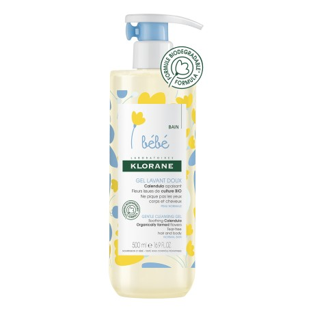 Klorane Bébé gel lavant doux 500 ml