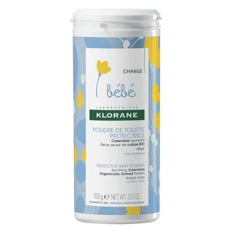 Klorane Bébé poudre de toilette protectrice 100 g