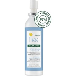 Klorane Bébé spray change Ertyeal 3 en 1 75 ml