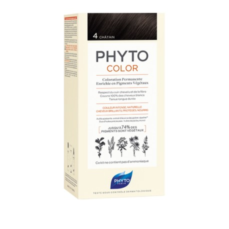 Phytocolor Coloration permanente 4 châtain