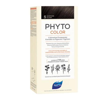 Phytocolor Coloration permanente 5 châtain clair