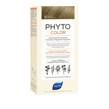 Phytocolor Coloration permanente 9 blond très clair