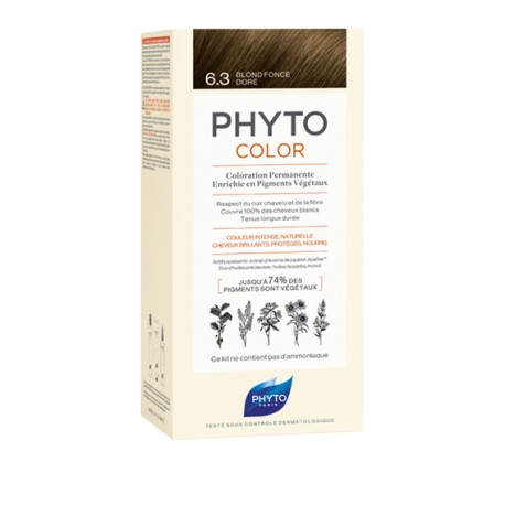 Phytocolor Coloration permanente 6.3 blond foncé doré