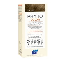 Phytocolor Coloration permanente 7.3 blond doré