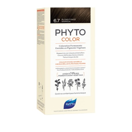 Phytocolor Coloration permanente 6.7 blond foncé marron