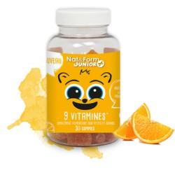 Nat & Form Junior 9 vitamines 30 gommes