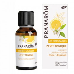 Pranarôm Les diffusables Zeste tonique 30ml