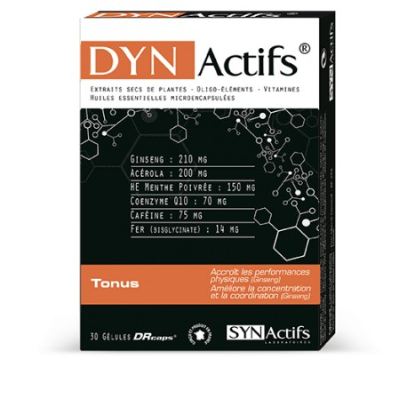 SYNActifs DYNActifs Tonus 30 gélules