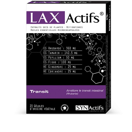SYNActifs LAXActifs Transit 20 gélules
