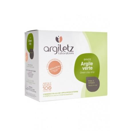 Argiletz 2 bandes Argile Verte 5mx11cm
