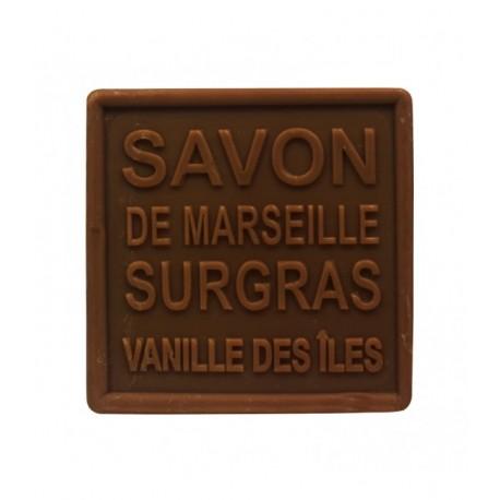 MKL Green Nature Savon de Marseille solide Vanille des îles 100 g