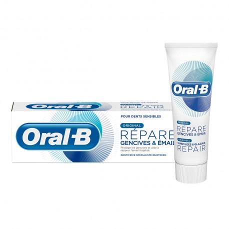 Oral-B dentifrice Répare Gencives et émail Original 75ml