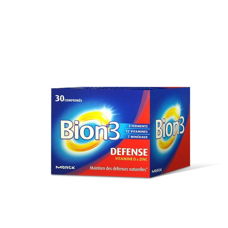 Bion 3 Defense Apporte Tonus Et Forme Aux Adultes Boite De 30 Comprimes