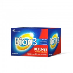 Bion 3 Défense Adultes 60 comprimés