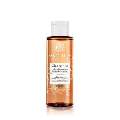 Sanoflore Cica Natura huile multi-correction marques et vergetures 110 ml