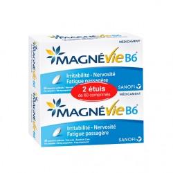 Magnévie B6 lot de 2x60 comprimés