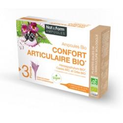 Nat & Form Ampoules Confort articulaire Bio 20 ampoules