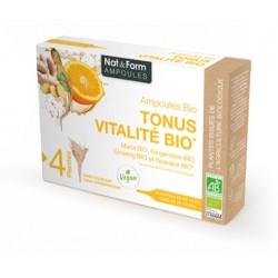 Nat & Form Ampoules Tonus Vitalité Bio 20 ampoules