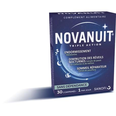 Sanofi Novanuit triple action 30 gélules