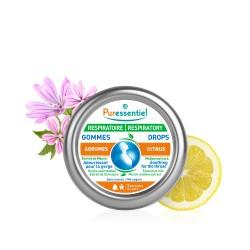 Puressentiel Respiratoire Gommes adoucissantes agrumes 45 g
