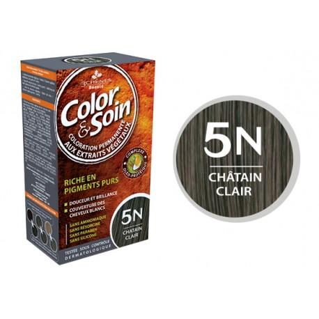 3 Chênes Color & Soin châtain clair 5N