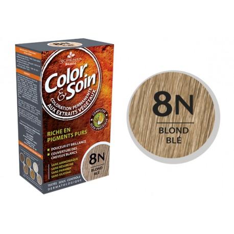 3 Chênes Color & Soin blond blé 8N
