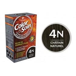3 Chênes Color & Soin châtain naturel 4N