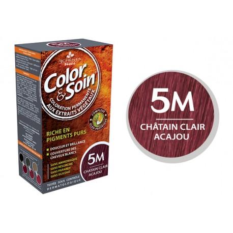 3 Chênes Color & Soin châtain clair acajou 5M