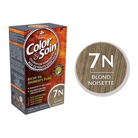 3 Chênes Color & Soin blond noisette 7N