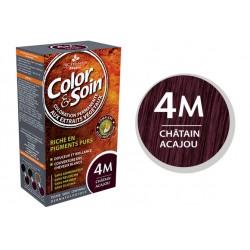 3 Chênes Color & Soin Châtain Acajou 4M