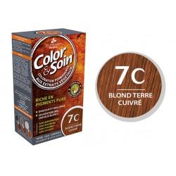 3 Chênes Color & Soin Blond Terre Cuivré 7C