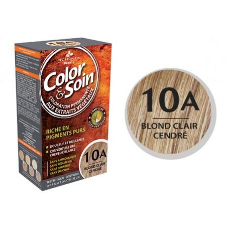 3 Chênes Color & Soin blond clair cendré 10A